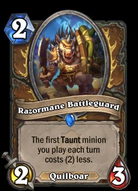 Razormane Battleguard Card Image