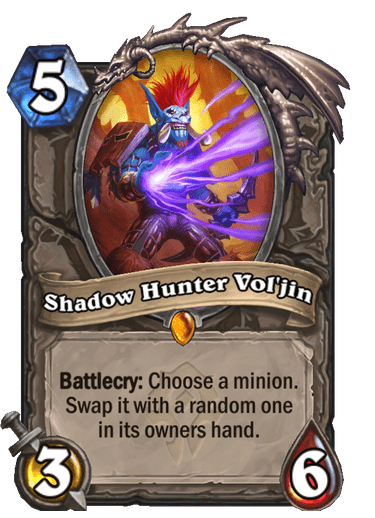 Shadow Hunter Vol'jin Card Image