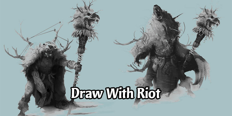 Behind the Scenes Legends of Runeterra Concept Art Stream on May 29