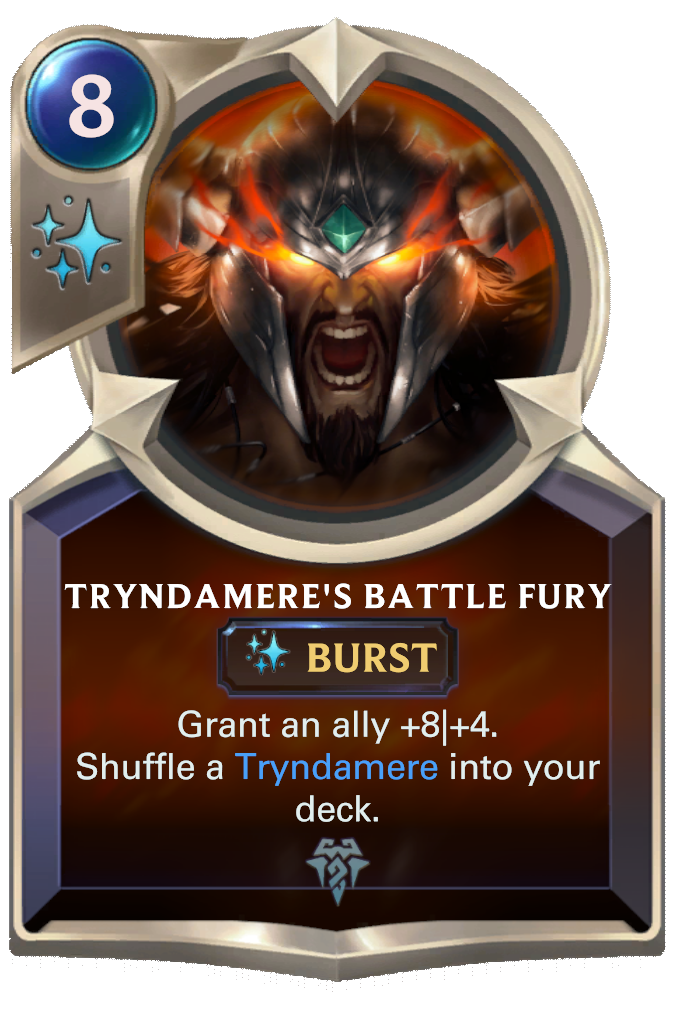 Tryndamere's Battle Fury Card Image