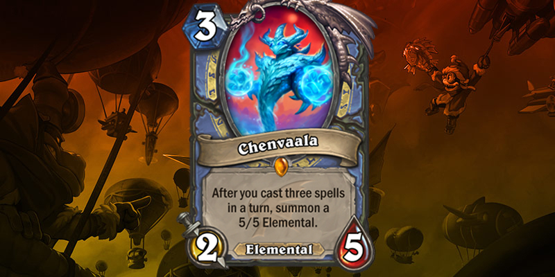 Mage Legendary Reveal - Chenvaala
