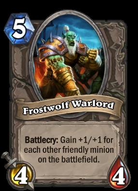 (5) Frostwolf Warlord