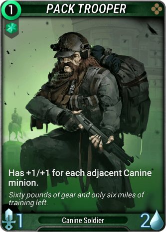 Pack Trooper Card Image