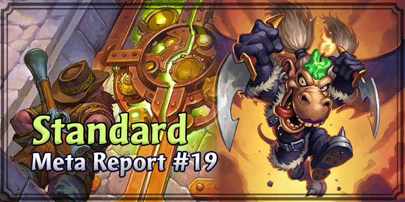 Standard Meta Report #19 - Top Hearthstone Decks January 12, 2020 - January 19, 2020