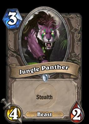 (3) Jungle Panther