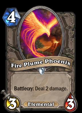 Fire Plume Phoenix Card Image