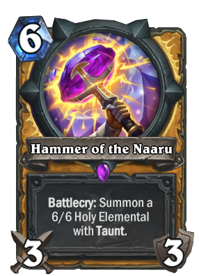 Hammer of the Naaru Card Image