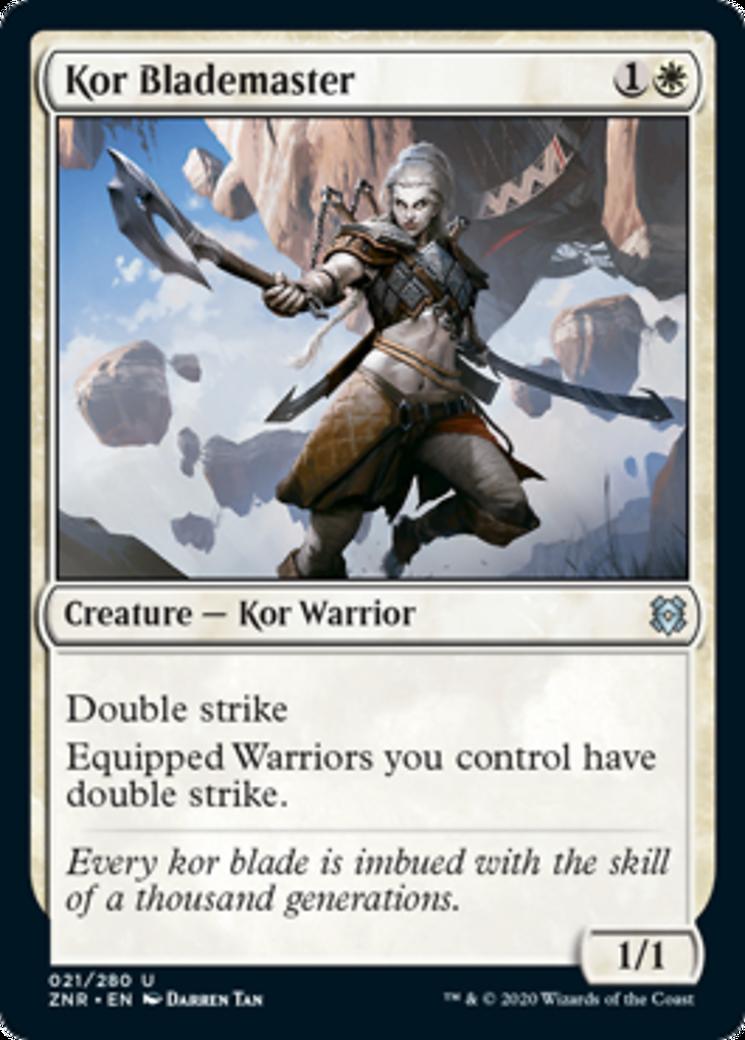 Kor Blademaster Card Image