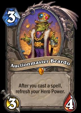 Auctionmaster Beardo Card Image