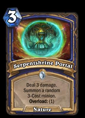 Serpentshrine Portal Card Image