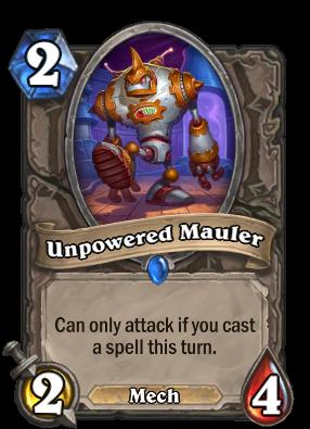Unpowered Mauler Card Image