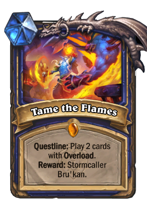 Tame the Flames Card Image