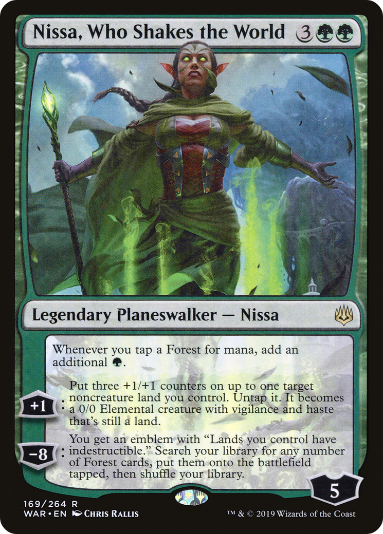 Nissa, Who Shakes the World Card Image