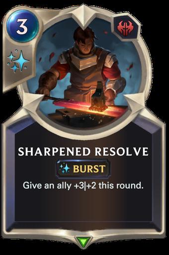 Sharpened Resolve Card Image