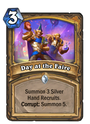 Day at the Faire Card Image
