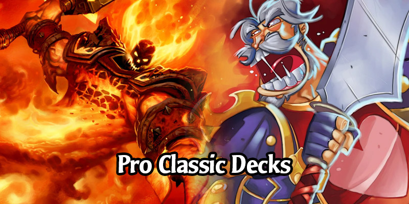 Seven Awesome Pro Decks for Hearthstone's Classic Format