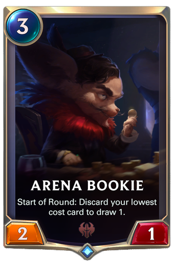 Arena Bookie Card Image