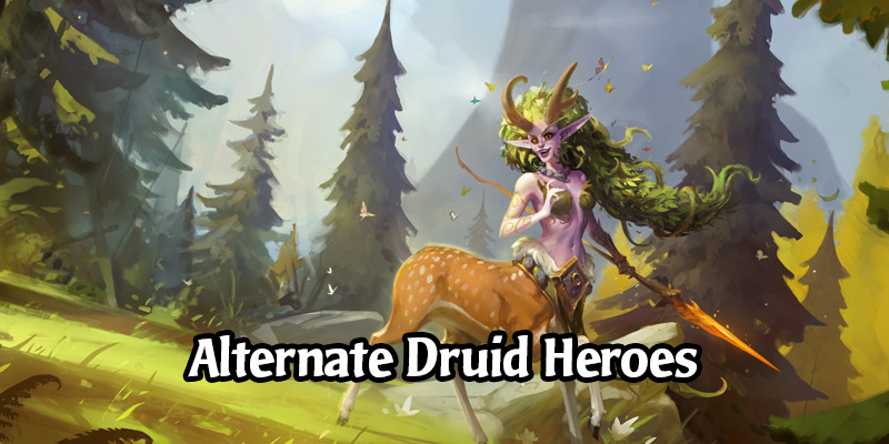 How to Obtain Hearthstone's Alternate Druid Heroes
