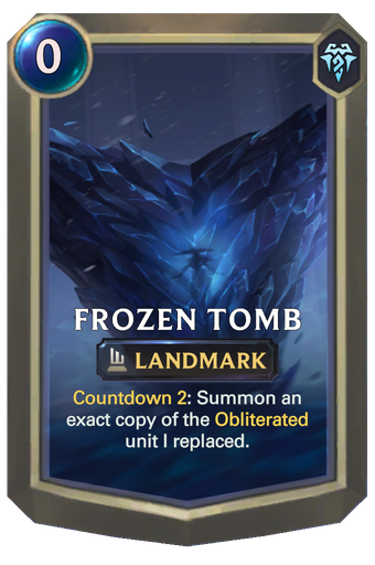 Frozen Tomb Card Image