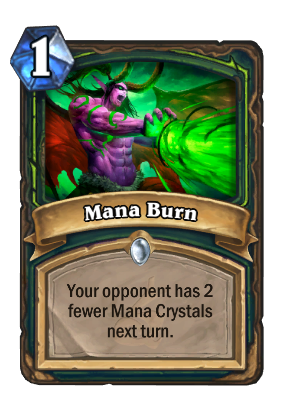 Mana Burn Card Image