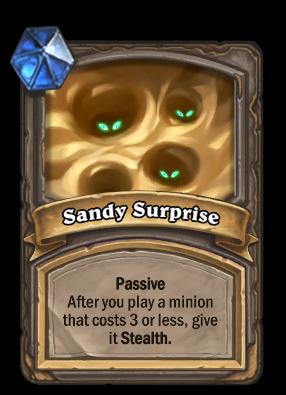 Sandy Surprise Card Image