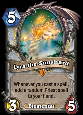 Lyra the Sunshard Card Image