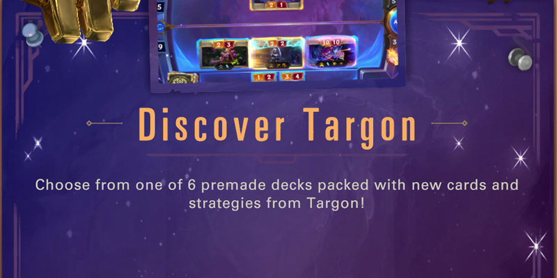 The Discover Targon Lab - Premade Decks to Test Targon Strategies