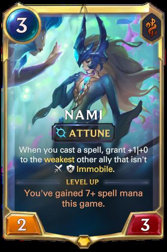Nami Card Image