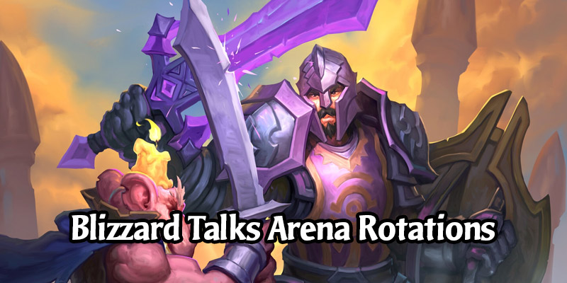 Hearthstone's Arena May See Set Rotations Return in December 2020