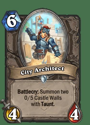 City Architect Card Image