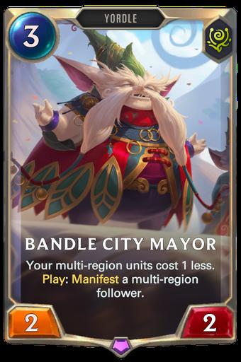 Bandle City Mayor Card Image