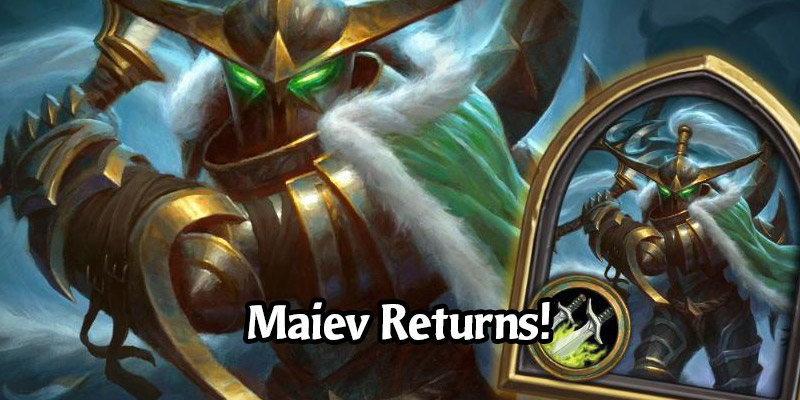 Maiev Shadowsong, The First Rogue Hero Skin, Returns to Hearthstone via the Shop for 1000 Gold
