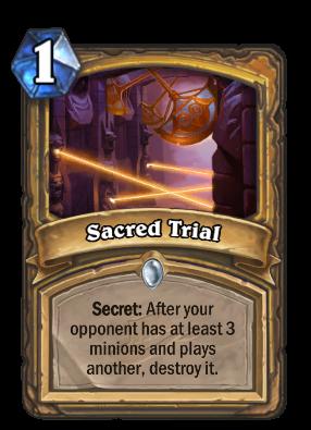 Sacred Trial Card Image