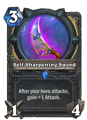 Self-Sharpening Sword Card Image