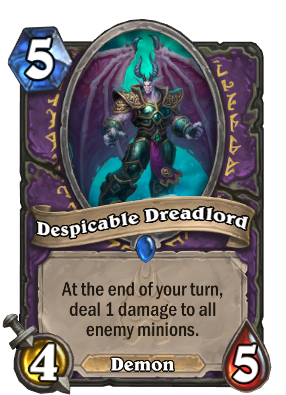 Despicable Dreadlord Card Image