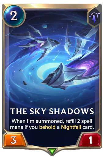 The Sky Shadows Card Image