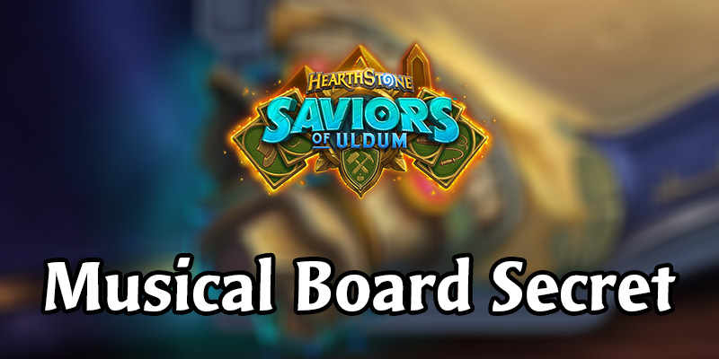 Solving the Saviors of Uldum Gameboard Easter Egg