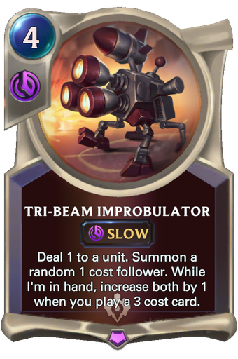Tri-beam Improbulator Card Image
