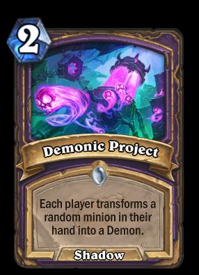 Demonic Project Card Image