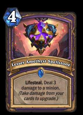 Lesser Amethyst Spellstone Card Image