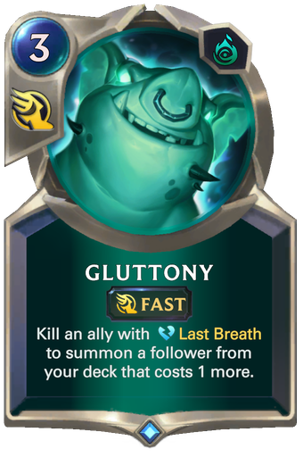 Gluttony Card Image