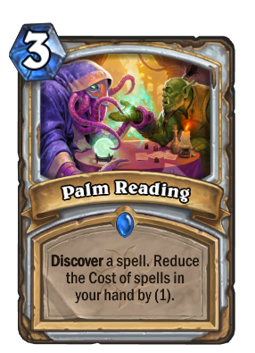 Palm Reading Card Image