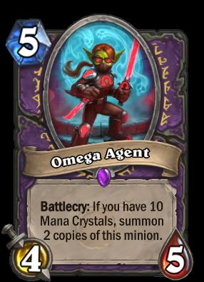 Omega Agent Card Image