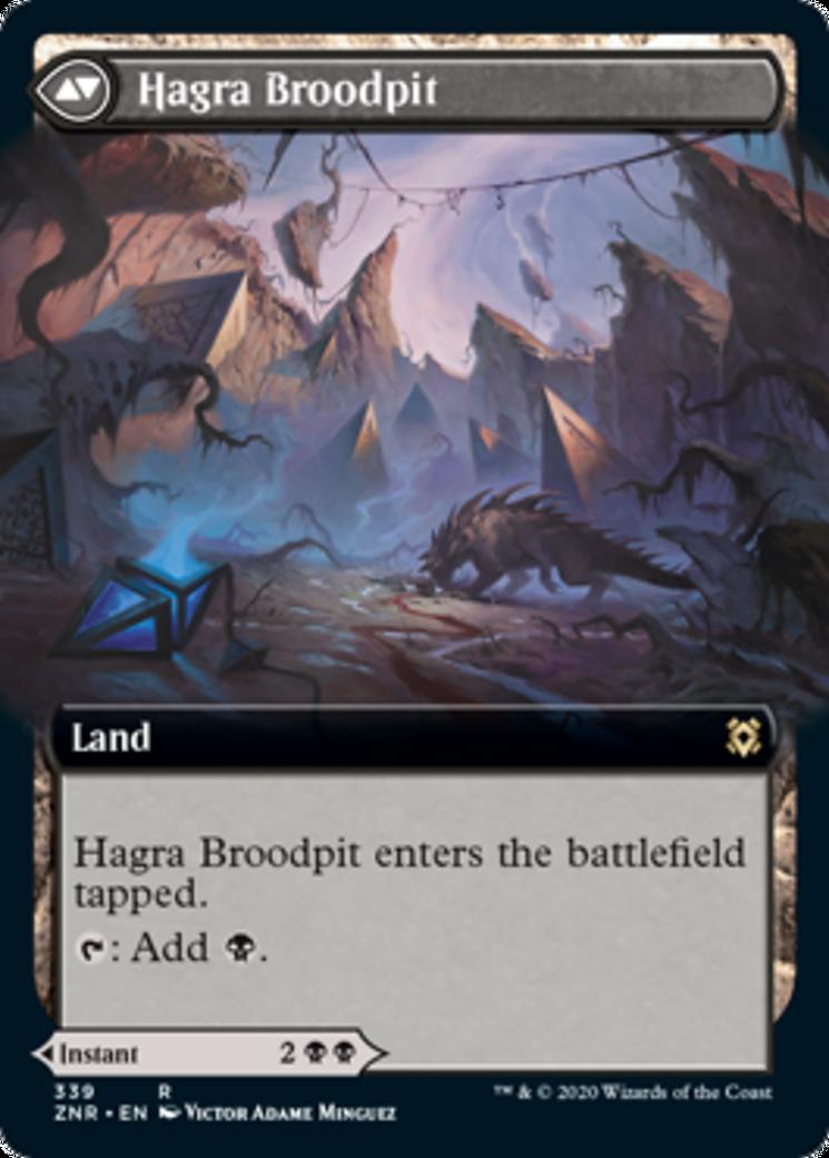 Hagra Mauling // Hagra Broodpit Card Image