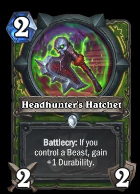 Headhunter's Hatchet Card Image