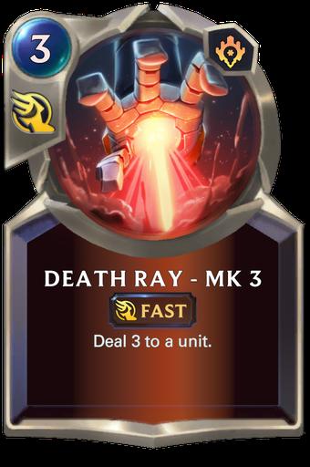 Death Ray - Mk 3 Card Image