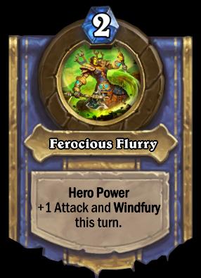 Ferocious Flurry Card Image