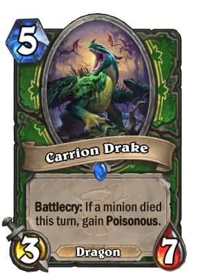 Carrion Drake Card Image