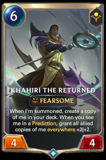 Khahiri the Returned Card Image