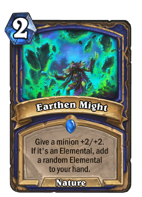 Earthen Might Card Image